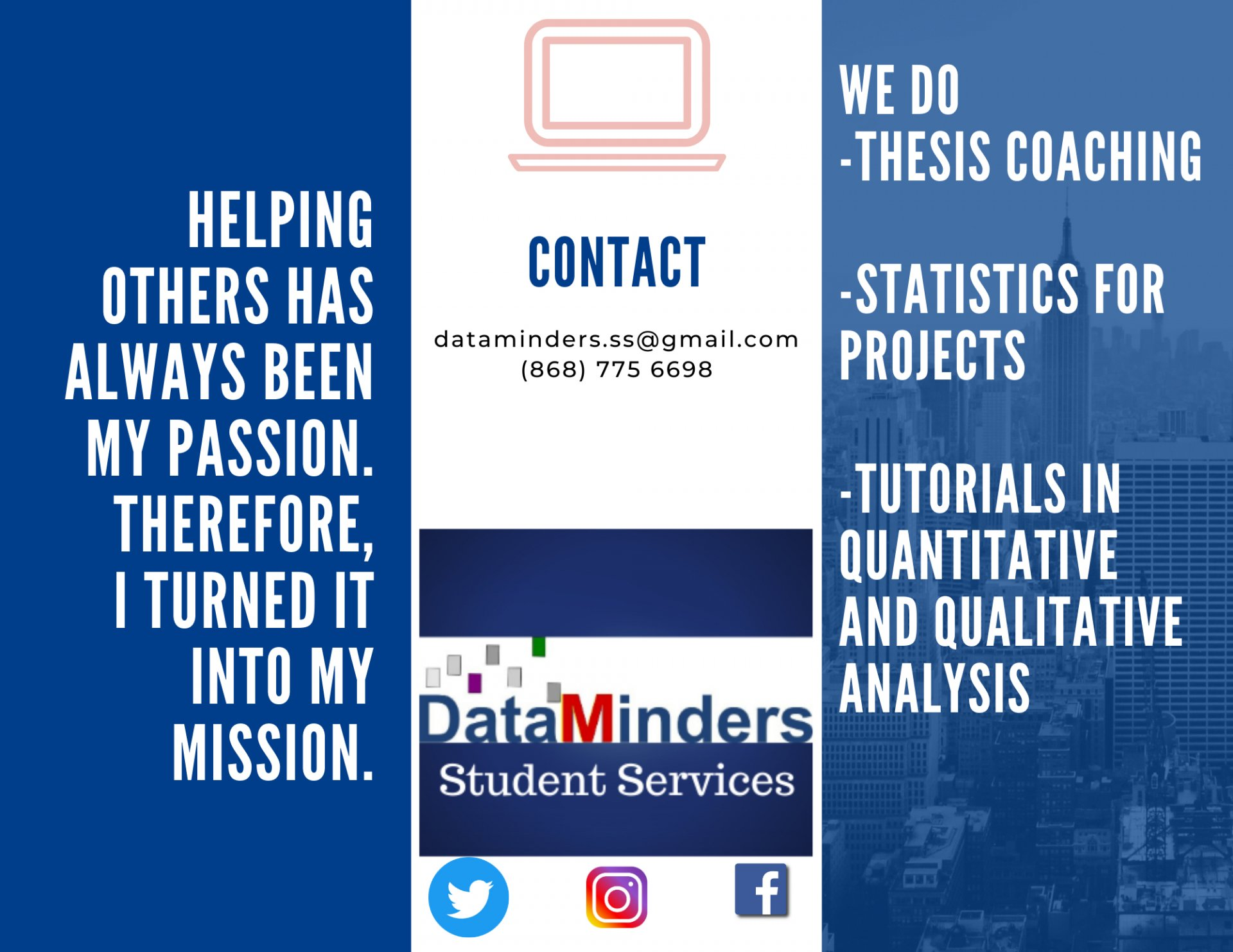 Data Minders Student Services