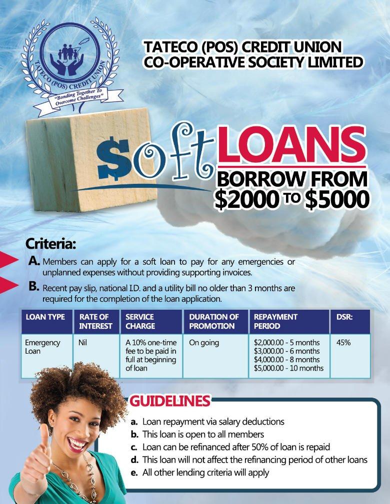 TATECO (POS) Credit Union Co-Operative Society Ltd