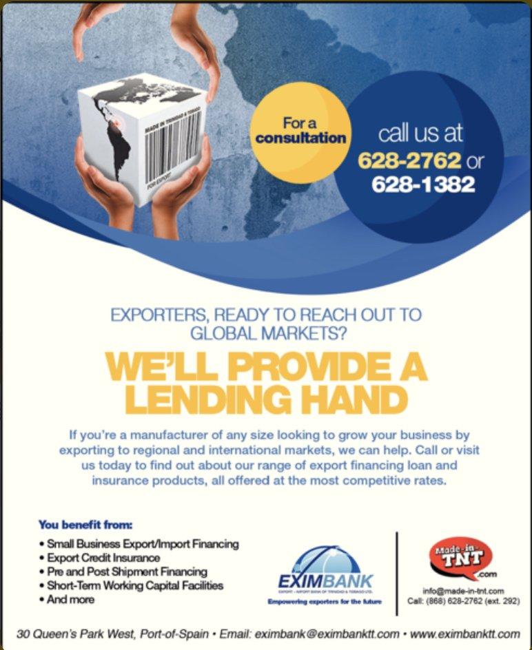Eximbank Export-Import Bank Of Trinidad & Tobago Ltd